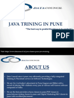 Java Classes in Pune | Java Training | Certification | Placement