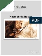 Haarschnitt Basics