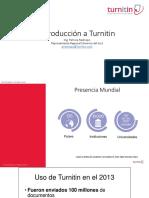 Introducciόn a Turnitin PRE