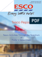 TESCO Value Chain Report