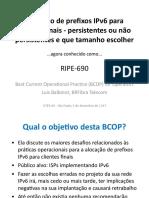 07 Alocacao IPv6 Clientes Finais