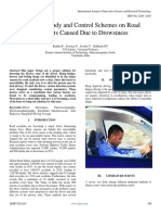 Complete Study and Control Schemes on Road Accidents Caused Due to Drowsiness