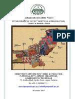 Evaluation Report - Establishment of DIH Nankana Sahib & Chinot