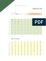 Calculadora de Matrices Inversas en Excel
