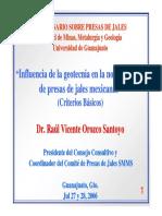 Influencia de La Geotecnia en La Normatividad de Presas de Jales Mexicanas