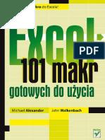 Excel 101 Makr Gotowych Do Uzycia Ex101m