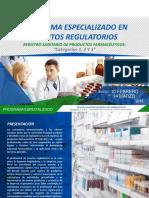 Programa Especializado - Asuntos Regulatorios Feb 2018 - GESFAR SAC