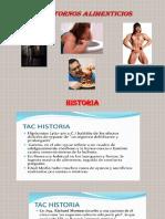 Nutrición - Trastornos alimenticion