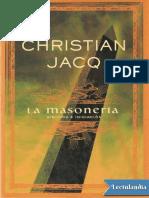 La Masoneria - Historia e Iniciacion - Christian Jacq