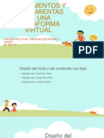 Fundamentos y Herramientas de Una Plataforma Virtual
