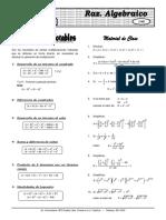 Álgebra(Teoria y Practica) ELITE X 2 Prod. Not 1
