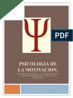 Psicologia de La Motivacion. Grupo de Trabajo