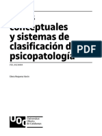 CLASSIFICACION PSICOPATOLOGIA
