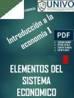 Elementos Del Sistema Economico