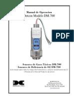 DM-700 IM R2-0 Spanish
