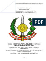 Bases y Convocatoria 2do Concurso 2017 - 2018