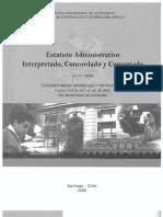 Estatuto Admistrativo Interpretado Ley18834 Vers 2008 2