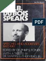 [W.E.B. Du Bois, Philip S. Foner] W.E.B. Du Bois S(B-ok.org)