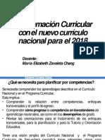 Programacion Anual y Unidades Didacticas 2018