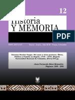 Del Amor y Otras Pasiones. Elites, Politica y Familia en Bogota