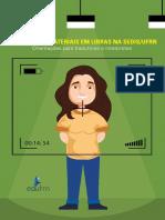 Gravacao de Materiais Em LIBRAS Na SEDIS - UFRN(Livro Digital)