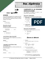 Álgebra(teoria y practica) ELITE X 9  Ecuac 1° grado