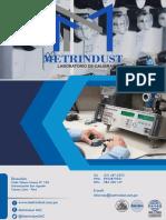 Brochure Metrindust Sac - Laboratorio de Calibración