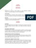 Clasificacion de Cuentas Activo y Pasivo 3ro Basico