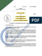 Ontario Statement of Claim Foreclosure EXAMPLE 1