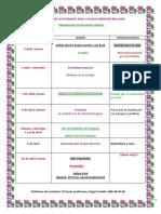 programa de actividades en francia 2018