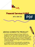 Financial Services N GDP