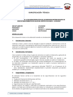 Especificaciones Huanta Uchuraccay 08-06-17