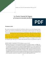 La Teoria General de Keynes y La Macroeconomia Moderna - Jaime Ros