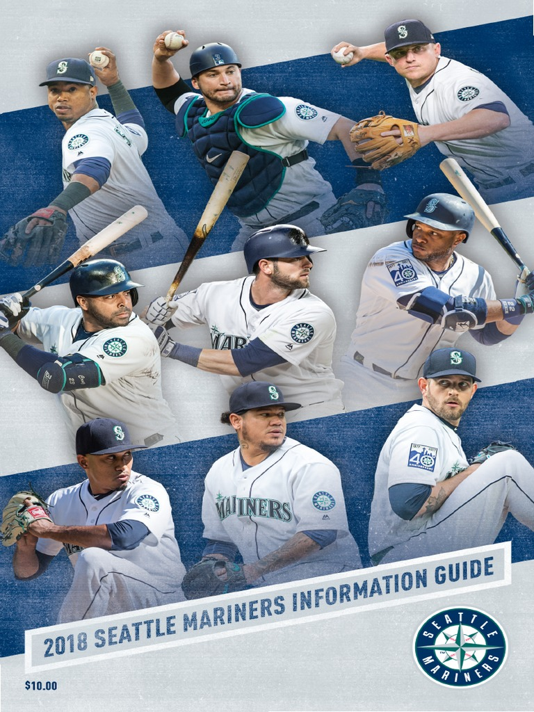 6a7365cf3f 2018 Seattle Mariners Media Guide