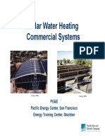 Handbook - Solar Water Heating Commercial Systems