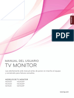 Manual de usuario LG monitor
