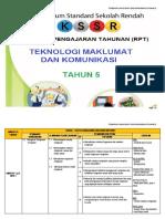 367276677-RPT-Teknologi-Maklumat-Komunikasi-Tahun-5-2018.docx