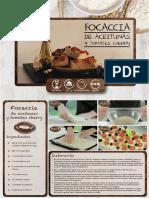 Recetas Pan - Focaccia