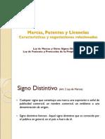 Marcas, Patentes y Licencias
