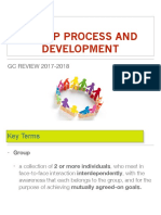 Group Process_Definitions, Types of Groups