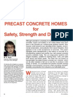 Precast Concrete Home for Safety,Strenght and Durability