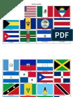 Banderas America y Africa
