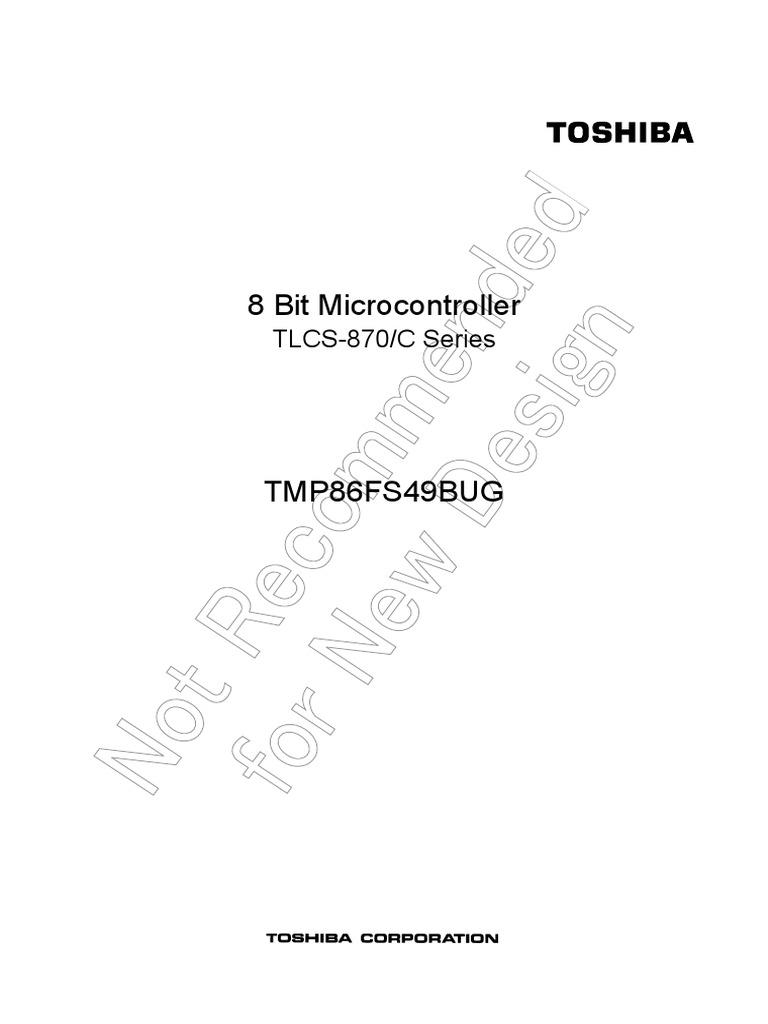 8 Bit Microcontroller TLCS-870C Series_Toshiba