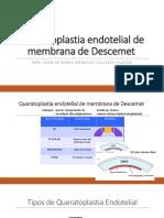 Queratoplastia Endotelial de Membrana de Descemet