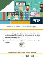 Dilemas Éticos y Modelos Deontológicos Para El Periodista Usuario de Medios Sociales
