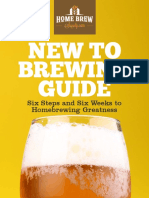 New to Brewing Guide