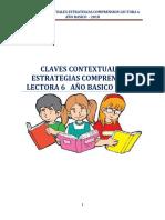 Estrategias Comprension Lectora 6 Basico Estudiante