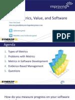 Agile Metrics Synerzip Webinar