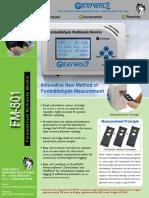 Formaldehyde Monitor FM-801