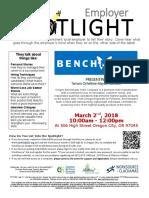 Employer Spotlights March 2018